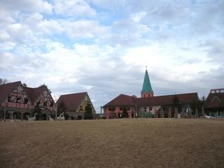 テーマパークの建物(1024x768)