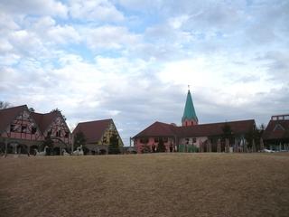 テーマパークの建物(800x600)